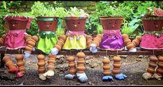 Outdoor Patio Designs, Planter Pots