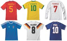 Adidas Skate Copa Jersey Collection