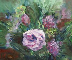"""Painting, """"Some Roses"""" Rose Art, Saatchi Art, Art Prints, Artist, Flowers, Roses, Painting, Pink, Artists"""