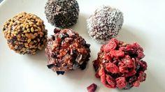 Raw power balls @powerbeautyfood