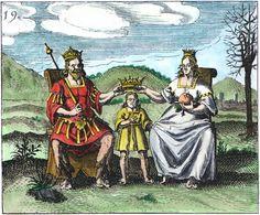 Mylius version of 'Rosarium' series coloured
