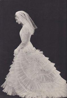 Charming 60's Bride