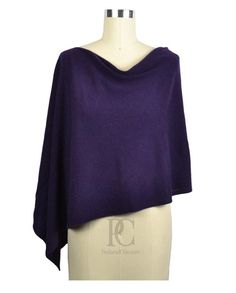e6bfd155d Claudia Nichole Cashmere Dress Topper Poncho Cabernet Purple Essential  Wardrobe Pieces, Poncho Dress, Dress