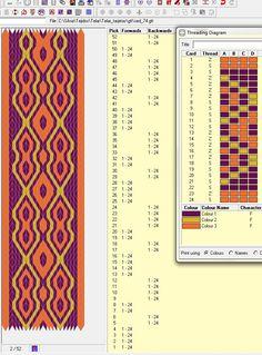 24 tarjetas, 3 colores, secuencia de movimientos 4F-2B-2F-4B