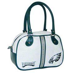 Philadelphia Eagles Bowler Bag $14.97 http://store.philadelphiaeagles.com/Philadelphia-Eagles-Bowler-Bag-_154664508_PD.html?social=pinterest_pfid37-01855