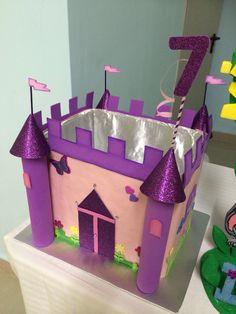 Buzón de sobres castillo de princesa