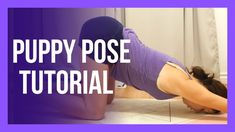 Puppy Pose Tutorial - Anahatasana Melting Heart Tips & Tricks Become A Yoga Instructor, Free Yoga Videos, Puppy Pose, Free Youtube, Tips & Tricks, Morning Yoga, Yoga For Beginners, Best Self, Yoga Meditation