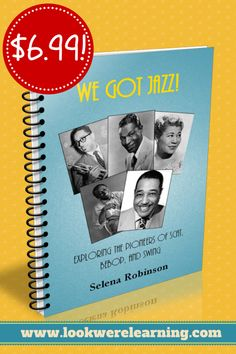 We Got Jazz - A Jazz Unit Study eBook: This is a great resource for learning about jazz music, jazz history, and composers! #education #music