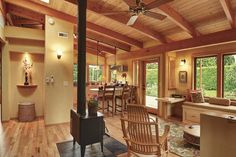 Best Small Home – 2013 HOUSES Awards - FineHomebuilding.com**Like the display cubicle on the left