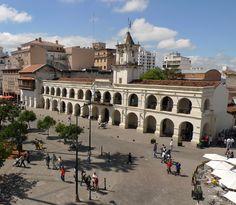 El Cabildo de Salta, Argentina