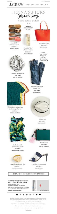 J.Crew - My Mother's Day picks