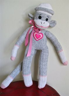 Sock Monkey Sally by mistersockmonkey1