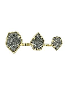 Kendra Scott double ring! Obsessed!!
