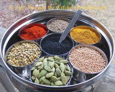 Simple Pleasures ✼ A Spice Route Tour of My Masala Box Spice Blends, Simple Pleasures, Vinaigrette, Spices, Beans, Vegetables, Cooking, Box, Kitchen
