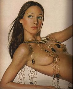 "Marisa Berenson - She was known as ""The Queen of the Scene"" for her frequent appearances at nightclubs and other social venues in her youth and Yves Saint Laurent dubbed her ""the girl of the Seventies""."