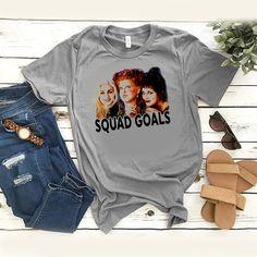 Hocus pocus squad goals t shirt