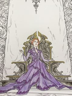 All The Pretty Diversions — The art in the ACOTAR coloring book is so amazing,...