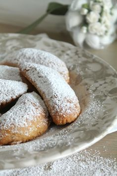 The one with all the tastes . from Crete with love! Greek Desserts, Greek Recipes, Biscuit Cookies, Food Photo, Food To Make, Sweet Tooth, Brunch, Dessert Recipes, Food And Drink