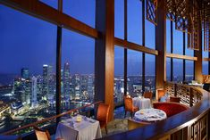 Equinox Complex is Singapore's most exciting dining and lifestyle hub. Treat yourself to the innovative, fresh French creations at the elegant JAAN or to modern European cuisine with traditional values at Equinox Restaurant, followed by award-winning cocktails at the luxurious City Space lounge or pulsating beats at New Asia. http://www.swissotel.com/singapore-stamford/dining/