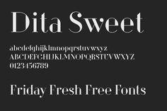Friday Fresh Free Fonts