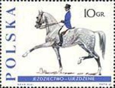 znaczki konie