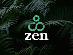 Zen / logo design 1 designed by Ed Vandyke. Connect with them on Dribbble; Zen Design, Modern Logo Design, Graphic Design, Zen Logo, Zen Tea, Letter Logo, Cool Logo, Logo Design Inspiration, Awesome Logos