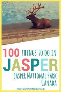 Ultimate list of activities for Jasper, Alberta, Canada | #jaspernationalpark #jasper #visitcanada #printable #banff