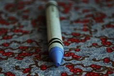 Periwinkle - Sixty Four Colors group, via Flickr.  This little crayon started my love for periwinkle