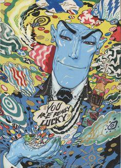 Brendan McCarthy - Mirkin the Mystic
