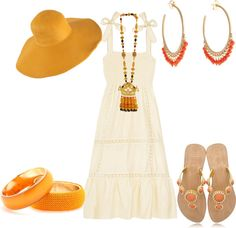 """Un paseo por la playa"" by outfits-de-moda on Polyvore"