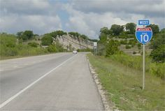 Interstate 10 between Kerrville and Junction is probably the most interesting section of Interstate Highway in Texas. Rugged landscapes, numerous cuts through the limestone, and very high design standards make this an impressive facility. #austinroads #I10 #texashighways #TandemLogistics