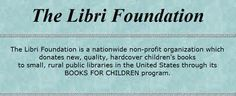 Libri Foundation offers books for children in rural disaster areas.