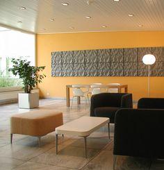 0003_Foto2 - - Empfangshalle – Kant. Spital Walenstadt: Walenstadt – Planung Raum- und Farbkonzept - d sein werke