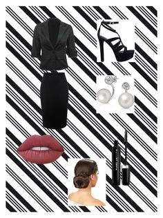 """""""Job Interview"""" by happy-geek7 ❤ liked on Polyvore featuring Darice, Alexander McQueen, GUESS, Bling Jewelry, Marc Jacobs and Lime Crime"""