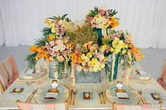 WedLuxe– Seaside Glamour | Photography by: Lifeimages. Follow @WedLuxe for more wedding inspiration!