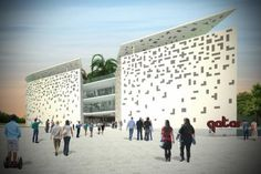 Competition for the Qatar Pavilion at the Milano EXPO 2015