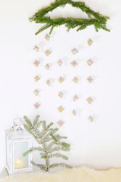 Ein schöner und zugleich schlichter Advents-Kalendar / http://wiesoeigentlichnichtblog.blogspot.de/