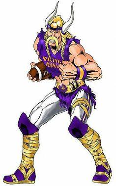This is sweet Football Cheerleaders, Best Football Team, Nfl Football, Cheerleading, Vikings 2, Ancient Vikings, Broncos Memes, Viking Logo, Minnesota Vikings Football