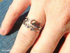 Affordable custom baby name rings