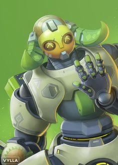 Orisa by Vylla Overwatch Fan Art, Robot Concept Art, Widowmaker, Photoshop, Nerd Geek, King Kong, Paladin, Funny Comics, Female Characters