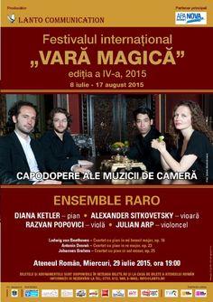 Abonamente Festivalul International Vara magica 2015