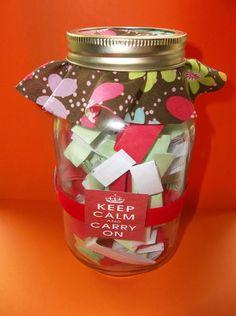 inspirational Gift jar Unique Gift