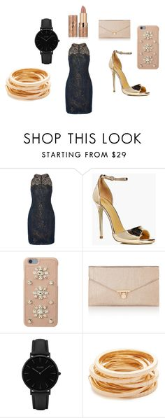 So chic! by gloria-nat on Polyvore featuring Notte by Marchesa, Boohoo, Accessorize, Kenneth Jay Lane, CLUSE, MICHAEL Michael Kors and tarte