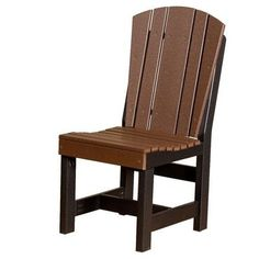Little Cottage Company Heritage Dining Side Chair Finish: Tudor Brown/Black