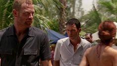 """Burn Notice 2x07 """"Rough Seas"""" - Michael Westen (Jeffrey Donovan) & Gerard (Max Martini)"""