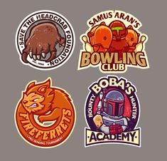 Gaming stickers 2 by ~cronobreaker on deviantART