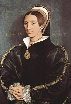 Portrait of Catarina Howard, 1541 Hans Holbein the Younger. wife of King Henry VIII. Wives Of Henry Viii, King Henry Viii, Anne Of Cleves, Anne Boleyn, Tudor History, British History, European History, Hans Holbein Le Jeune, Royals