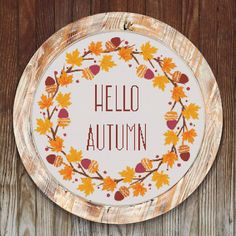 Hello Autumn Modern Cross Stitch Pattern Wreath // Instant PDF Download  The pattern comes as a PDF file that youll will be able to download immediately after purchase. Pattern PDF includes: - A pattern chart with coloured blocks and symbols spread across several pages for easy reading - List of thread colors and sizes.  Pattern Information: Designed for 18 count white Aida, but will work for any count or colour. Size: 28 cm x 28 cm (11`x11`) for 18 count. Types of stitches: Cross stitch…