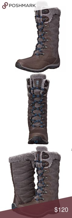 Timberland Women's Willowood WP Insulated Boot Timberland Women s Willowood WP Insulated Winter Boot Dark Grey. 100% real authentic. Description Whether you're carving down double black diamond slopes or conquering Everest, ensure you lace up in the proper gear with the Timberland Women's Willowood Waterproof boot.. Features & details Leather/Textile Imported Rubber sole Timberland Shoes Winter & Rain Boots