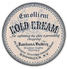 Old Fashion Apothcary Label